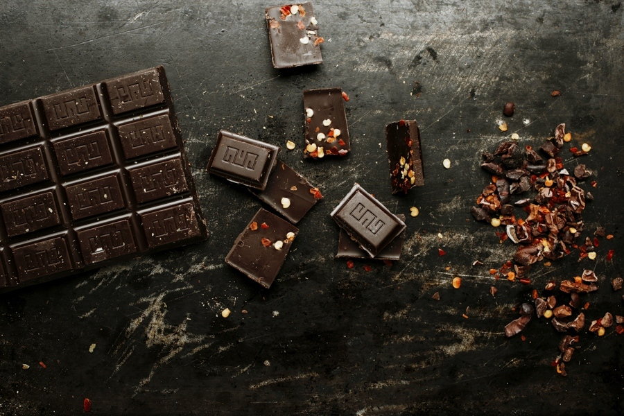 Tabletas de Chocolate alto porcentaje de cacao